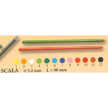 Mine colorate 3,2mm