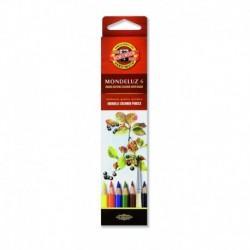Seturi creioane color Aquarell Mondeluz FRUCTE