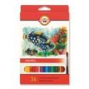 Seturi creioane color Aquarell PESTI