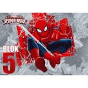 Bloc desen SCOALA A3 130gr/mp 10coli SPIDERMAN Nr.5