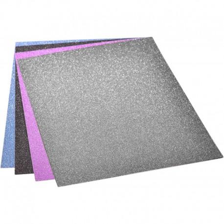 Set carton colorat GLITTER