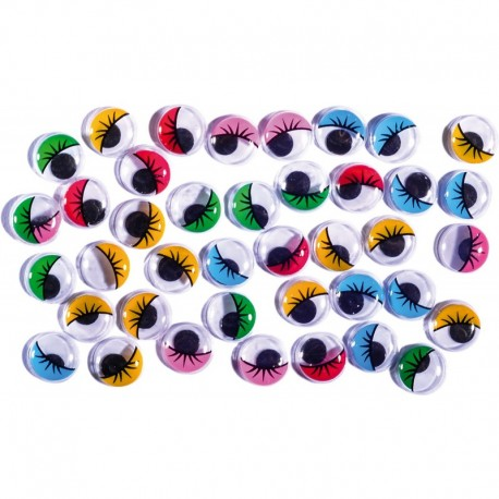 color; cu gene; 12mm; 40buc