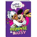 Caiet A4 dictando MINNIE GLITTER 40+2f 80g