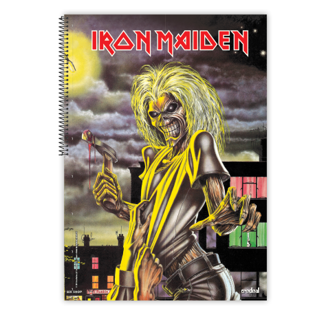 Caiet spira metal IRON MAIDEN