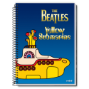 Caiet spira metal THE BEATLES 200 pagini