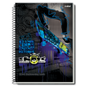 Caiet spira metal SKATE 200 pagini
