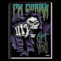 Caiet spira metal IM GONNA GET YOU 200 pagini