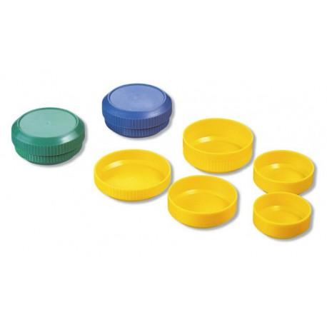 Set 4 plus 1 vase plastic pentru preparare culori