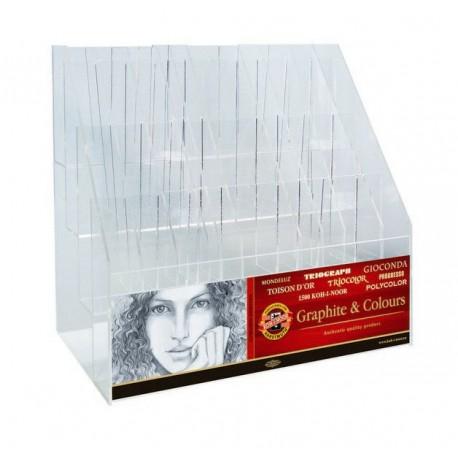 Display Plexi-Glass pentru creioane