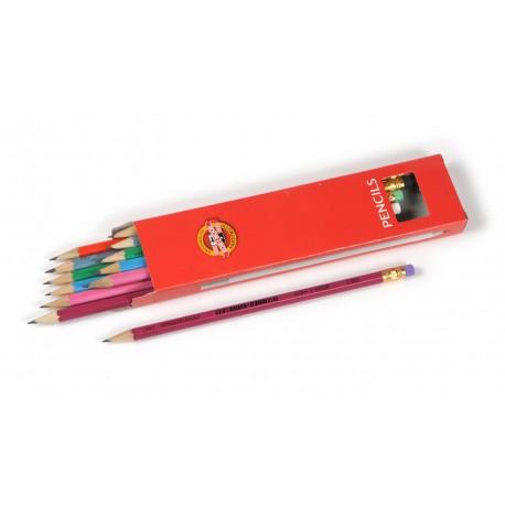 Creion grafit cu guma ASTRA