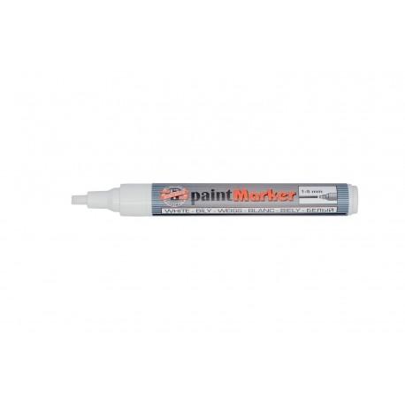 Marker PERMANENT VOPSEA ALBA, varf 1 - 5mm