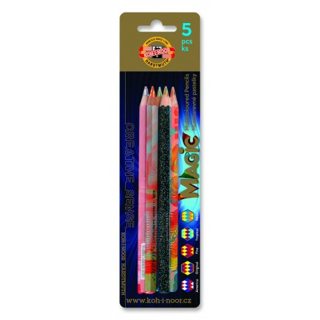 Creioane MAGIC 5 buc/bls