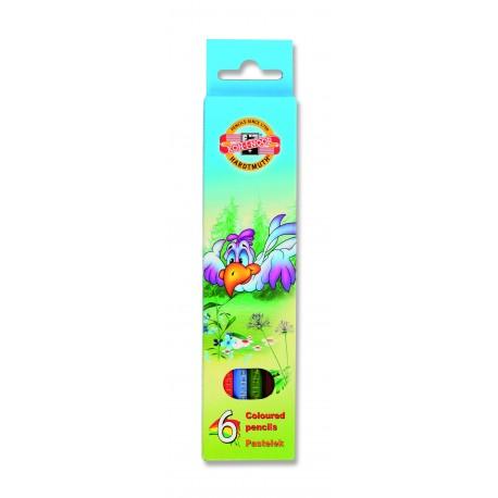 Seturi creioane color LUMEA PASARILOR