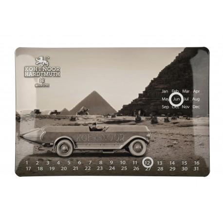 Calendar Metalic Perpetuu