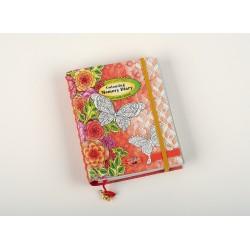 Set coloriaj adulti: jurnal & set 24 creioane Polycolor