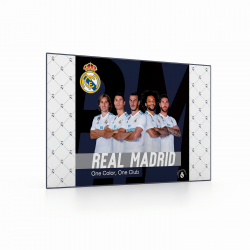 Mapa BIROU 40x60cm REAL MADRID