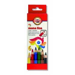 Set creioane color MONA LISA JUMBO