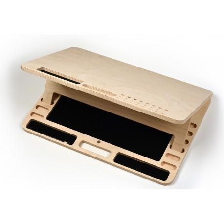 Cutie lemn pentru accesorii arta