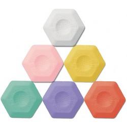 Guma plastica hexagonala