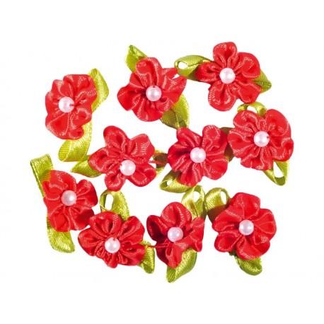 Set flori satin
