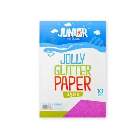 Set carton colorat GLITTER