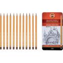 Seturi creioane grafit KOH-I-NOOR