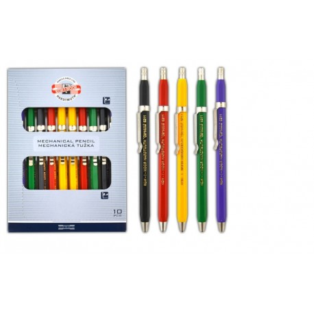 Creion mecanic 2mm din plastic VERSATIL