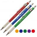 Creion mecanic 2mm din plastic, cu grip METAL