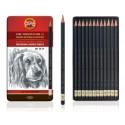 Seturi creioane grafit TOISON D'OR