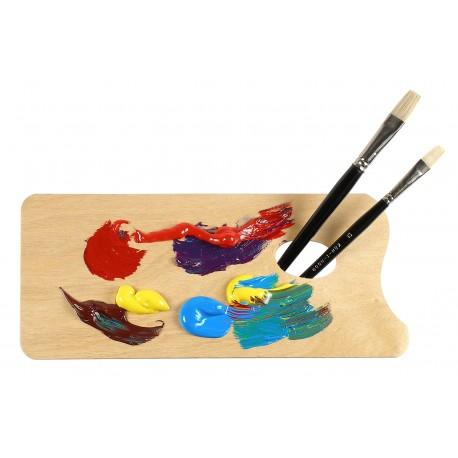 Paleta pictura din lemn MICA