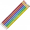 Creion grafit cu guma SIDEFAT