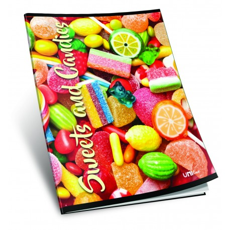 Caiet A5 matematica SWEETS & CANDIES