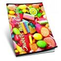 Caiet A5 velin SWEETS & CANDIES