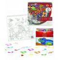 SET Carte coloriaj adulti + set 24 cr color